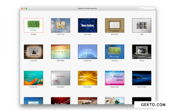 Themes fx for ms powerpoint 2.0. Screenshot №1