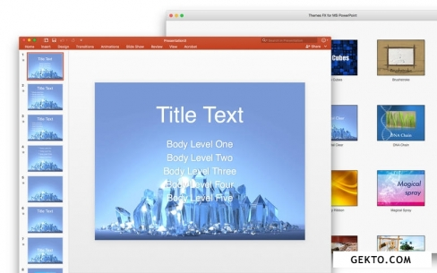 Themes fx for ms powerpoint 2.0. Screenshot №2